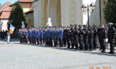 """În weekend: Peste 70 de jandarmi, """"la datorie"""" pentru a asigura măsurile de ordine, la evenimentele organizate în Alba"""