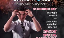 25 NOIEMBRIE: Petrecere aniversară Game Wold Alba Iulia. Premii speciale şi surprize la împlinirea a 10 ani de la deschidere