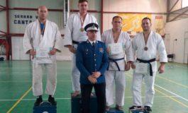 FOTO: Mihai Avram de la ISU Alba, medalie de argint la Campionatul Naţional de Judo 2017