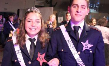FOTO: Miruna Coman și Alexandru Bratescu, desemnaţi Miss și Mister Boboc 2017, la Colegiul Militar din Alba Iulia
