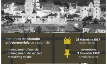 21 NOIEMBRIE: eOKEY să fii ANTREPRENOR în Alba Iulia. 150 de persoane sunt aşteptate la eveniment
