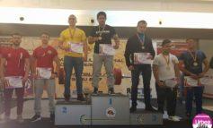 FOTO: CS Unirea Alba Iulia a câștigat detașat Campionatul național de împins din culcat. Irimie Andrei a fost desemnat campion absolut