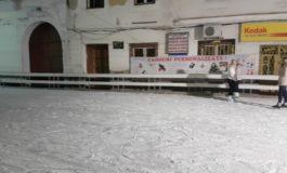 Primăria Sebeş: Patinoar artificial, cu acces gratuit, pentru toți copiii din municipiu