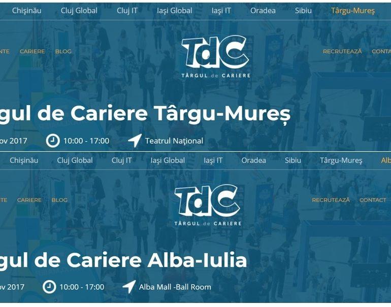 ADR Centru: Oportunități de finanțare pentru tineri, la târgurile de cariere în județele Alba și Mureș