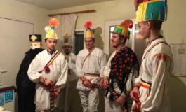 """FOTO-VIDEO: """"Mersul cu Craii"""", obicei de Crăciun în Poşaga de Jos, judeţul Alba"""