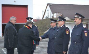 FOTO: Ceremonial pentru avansare în grad la ISU Alba