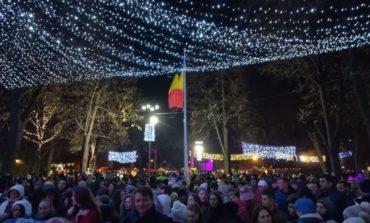 FOTO: Peste 1.200 de locuitori din Sebeş au participat la deschiderea Târgului de Crăciun
