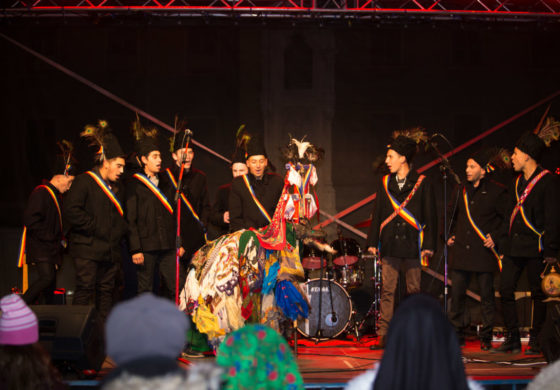 """FOTO: """"The Christmas Festival"""", un eveniment de folclor, obiceiuri, tradiţii şi muzică uşoară, în Piaţa Cetăţii din Alba Iulia"""