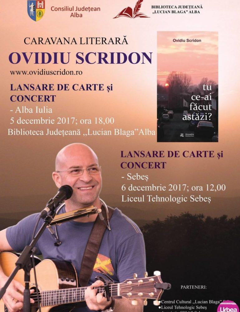 """5-6 decembrie: ,,Carava literară a scriitorilor în școală"""" poposeşte în Alba Iulia, Aiud și Sebeș"""