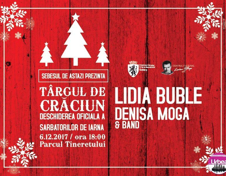 Deschiderea oficială a Târgului de Crăciun din Sebeș în 6 decembrie, ora 18.00, Parcul Tineretului