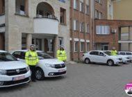FOTO IPJ Alba: Poliţiştii din Alba au primit 9 autoturisme Dacia Logan, pentru a fi folosite în misiunile desfăşurate pentru siguranţa cetăţenilor