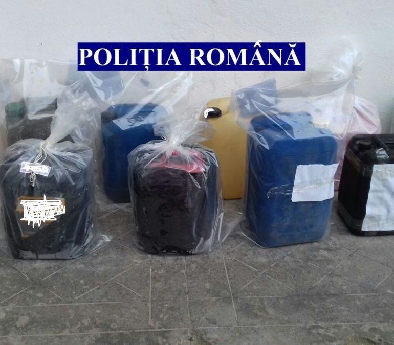 FOTO: Patru persoane reținute în urma perchezițiilor efectuate joi, în Alba şi Sibiu