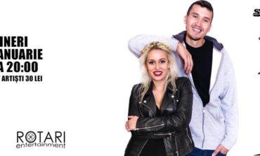 19 IANUARIE: Stand Up Comedy cu Serghei & Anisia, la Pub Skit' 77 din Alba Iulia
