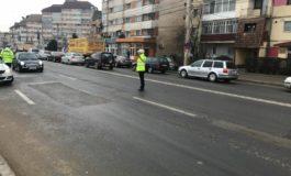 FOTO: Zeci de pietoni amendați, permise reținute și amenzi pentru viteză, în cadrul acţiunii ALEGE VIAȚA, desfăşurată de IPJ Alba