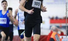 George Antonio Fleșer, atlet legitimat la CS Unirea Alba Iulia, pe locurile 1 și 2 la Campionatul Național de Juniori II de la București