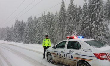 IPJ Alba: Recomandări pentru şoferi în contextul avertizărilor meteorologice
