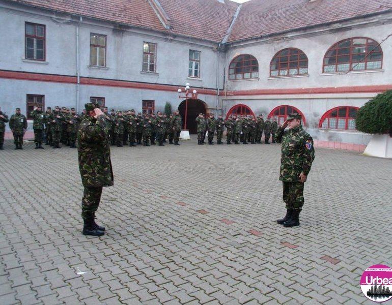 """FOTO: Festivitatea de deschidere a noului an de instrucţie la Batalionul 136 Geniu """"Apulum"""" Alba Iulia"""