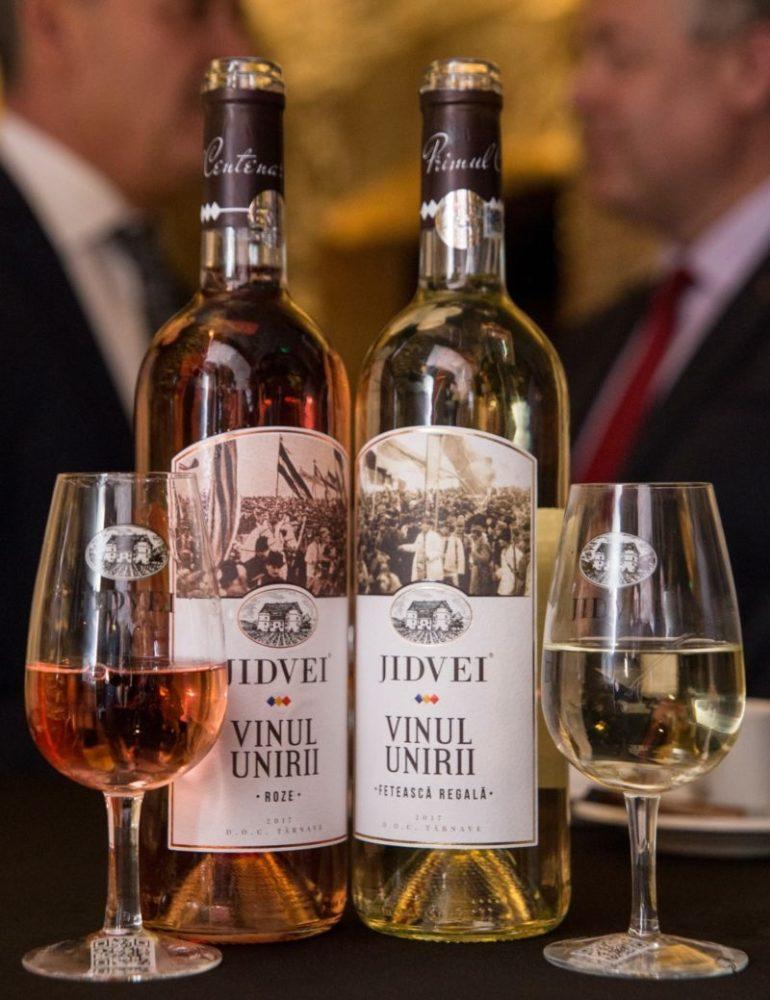 FOTO: Vinul Unirii, produsul aniversar lansat de Jidvei