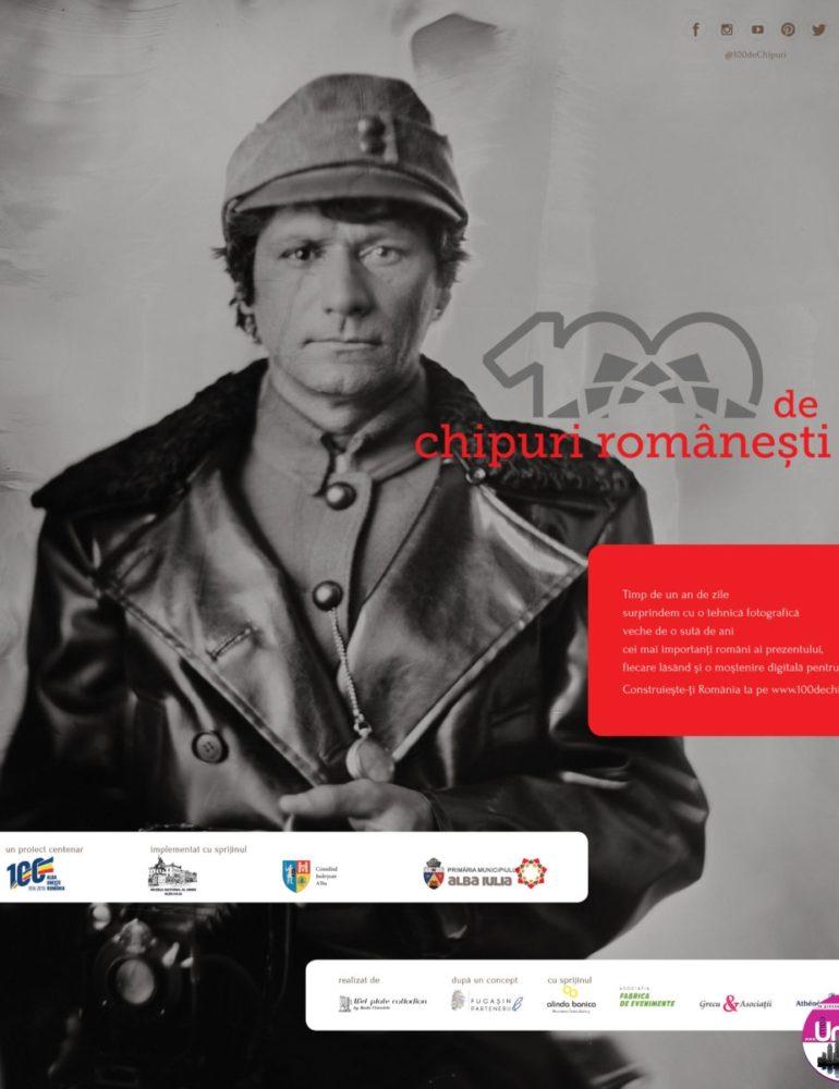 """MIERCURI: Lansarea proiectului """"100 de chipuri românești"""", la Muzeul Principia din Alba Iulia"""