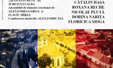 """Miercuri: Ziua Unirii Principatelor Române, sărbătorită la Sebeş printr-un spectacol folcloric cu Ansamblul """"Augustin Bena"""""""