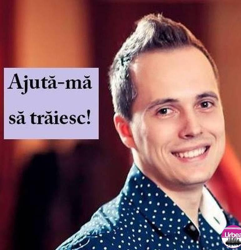 """""""Ajută-mă să trăiesc"""": Adrian Vințan, un tânăr albaiulian are nevoie de 75.000 de euro pentru a trăi"""