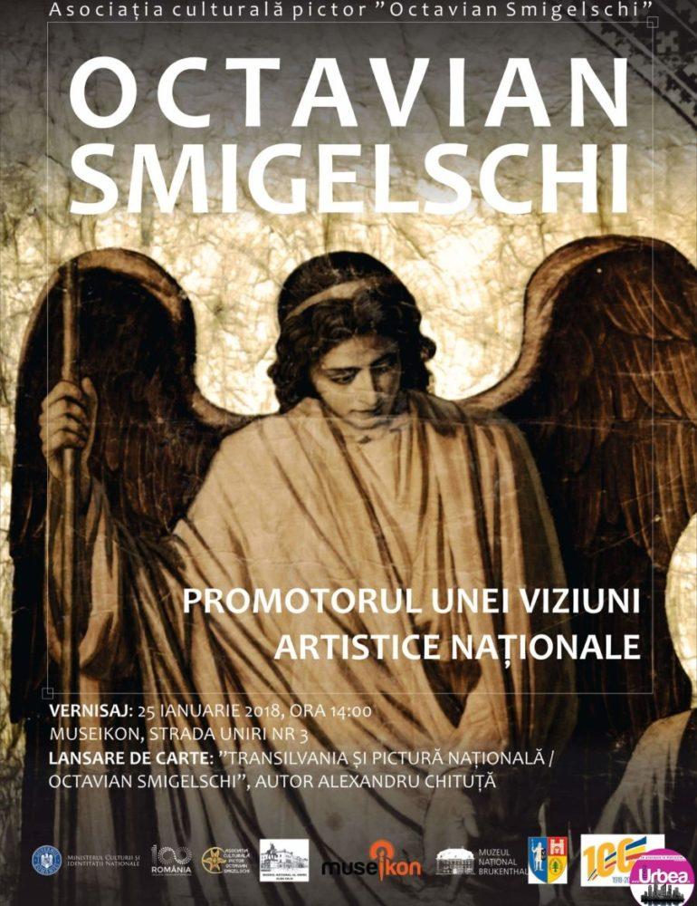 JOI: Expoziția de artă monumentală Octavian Smigelschi, promotorul unei viziuni artistice naționale, la Museikon