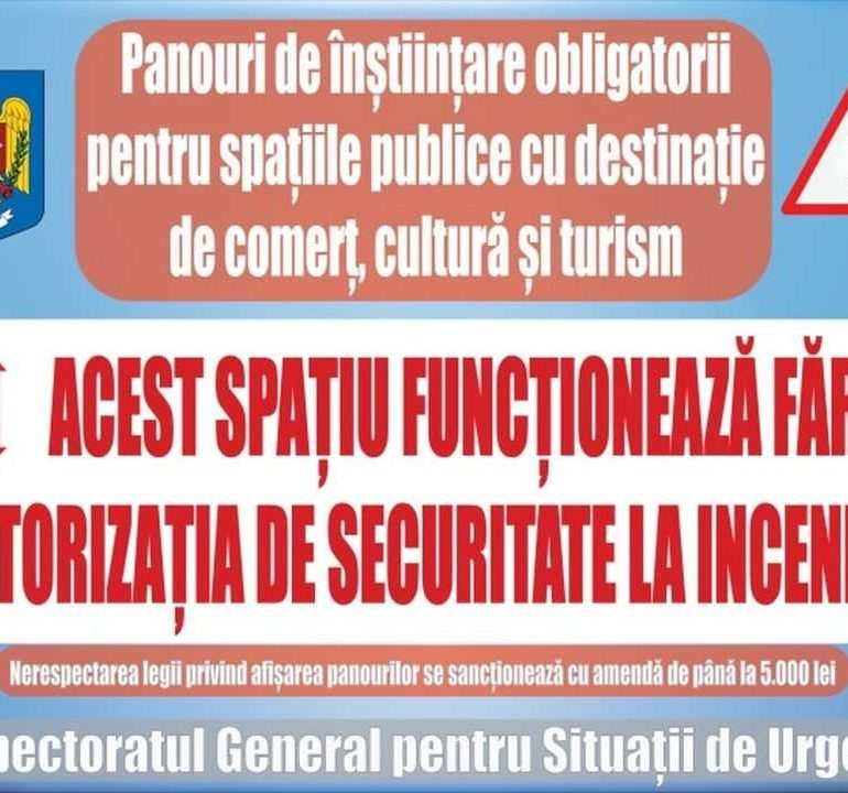 ISU Alba: Noua lege privind apărarea împotriva incendiilor, în vigoare