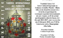 Vernisajul expoziției Taberele Internaționale ale Fundației Ianza-Art, JOI, la Galeria de Artă din Alba Iulia
