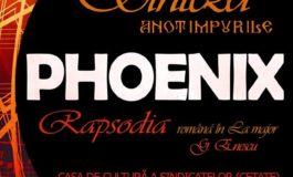 """VINERI: Turneul Phoenix """"Sinteza – Rapsodia"""" ajunge la Alba Iulia. Concert extraordinar pe scena Casei de Cultură a Sindicatelor"""