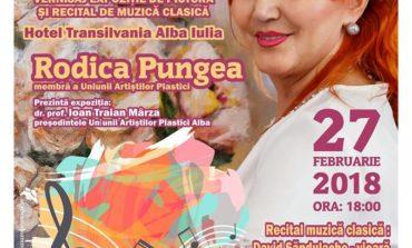 """27 februarie: Expoziția """"Simfonie de primăvară"""" şi recital de muzică clasică, la Hotel Transilvania din Alba Iulia, pentru sprijinirea bolnavilor de scleroză multiplă"""