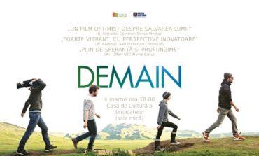 4 Martie: Demain, cel mai bun documentar al anului 2016, ajunge la Alba Iulia