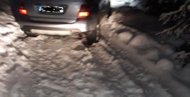 FOTO: Seară cu peripeții pentru un bărbat din Sebeș. A fost nevoie de intervenția jandarmilor și a salvamontiștilor