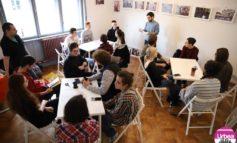 FOTO: Nou spațiu pentru educație și arte, în Alba Iulia. Casa Forum permite organizarea unei game variate de activități, de la dezbateri și expoziții la proiecții de film și ateliere de cultură civică