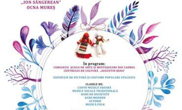 """ASTĂZI: """"Mărţişor călător"""", la Ocna Mureş. Cursanţii Şcolii de Arte şi Meşteşuguri susţin un spectacol muzical-coregrafic dedicat femeilor"""