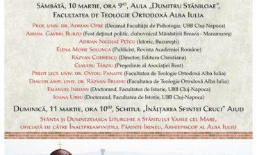 10-11 Martie: Simpozion de Studii Martirologice la Alba Iulia și la Aiud