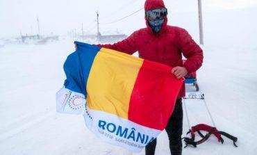 VIDEO: Pentru a treia oară consecutiv, românul Tibi Ușeriu a CÂȘTIGAT ultramaratonul de la Polul Nord