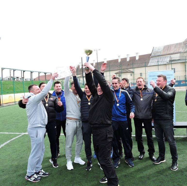 FOTO: Ziua Jandarmeriei Române, în Alba. Clasamentul final al turneelor sportive