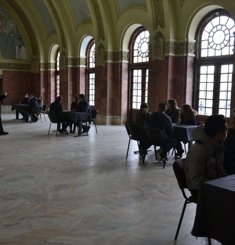 """FOTO: Semifinala Concursului pe teme de istorie """"Alba Iulia, Cealaltă Capitală"""". Liceele calificate în finală"""