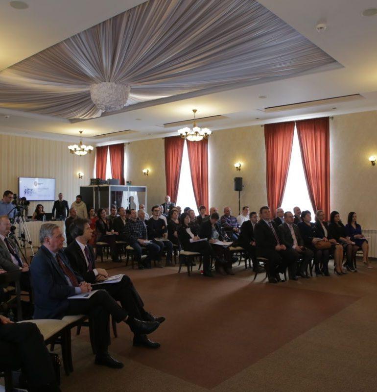 FOTO: Conferință pe tema învățământului dual, în orașul cu șomaj zero. Sebeşul este pregătit pentru a IV-a Revoluţie Indistrială