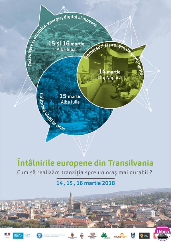 14-16 Martie: A VIII-a ediţie a Întâlnirilor Europene din Transilvania, la Alba Iulia şi Cluj Napoca