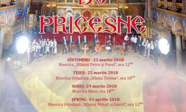 """25 martie - 15 aprilie: Turneu de pricesne """"pentru suflet"""" în judeţul Alba"""