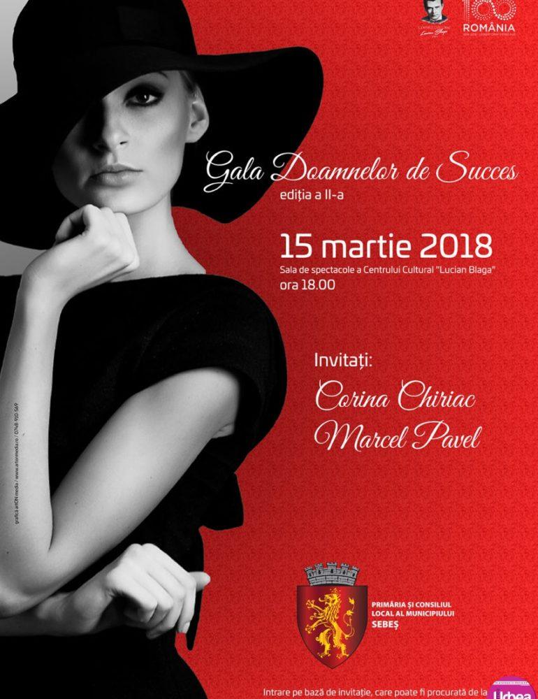 15 MARTIE: Ziua Internaţională a Femeii va fi sărbătorită la Sebeş printr-o gală a doamnelor de succes
