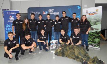 FOTO: Elevii colegiului militar albaiulian, la faza naţională a concursului de robotică