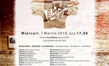 """Miercuri: """"Arta feminină în colecția Inter Art"""", cea mai complexă și amplă expoziție internațională de artă plastică feminină a anului 2018, la Aiud"""
