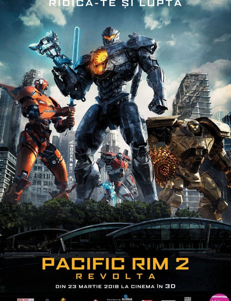 Pacific Rim 2: Revolta 3D [premieră la cinema din 23 Martie]