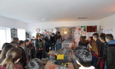 """FOTO: """"Ziua porților deschise"""" la Liceul Tehnologic Ocna Mureș"""