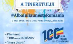 2 mai: Ziua Națională a Tineretului, sărbătorită la Alba Iulia. PROGRAM