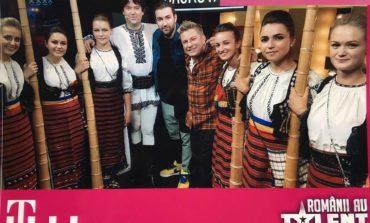 FOTO-VIDEO: Basul Liviu Burz și șase tulnicărese din Cîmpeni, pe scenă la Românii au talent. Patru de DA pentru un moment muzical de excepție
