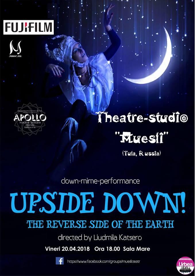 O nouă serie de spectacole la Alba Iulia în cadrul Festivalului Internaţional de Teatru de Tineret APOLLO. Programul pentru ziua de VINERI