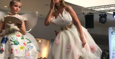 """FOTO-VIDEO: Spectacol adevărat la """"Green Fashion Show 2018"""", la Alba Mall. Câştigătorii ediţiei cu numărul IX"""
